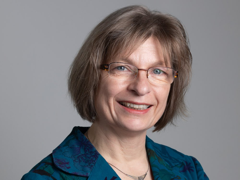 Bürgermeisterkandidatin Brigitte West