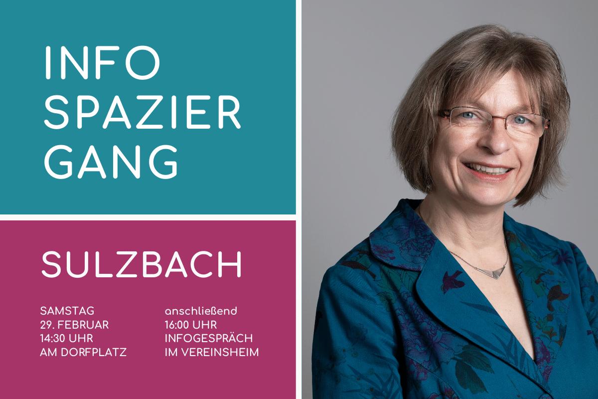 Infospaziergang der Bürgerliste in Sulzbach