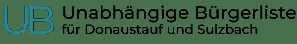 Unabhängige Bürgerliste für Donaustauf und Sulzbach Logo