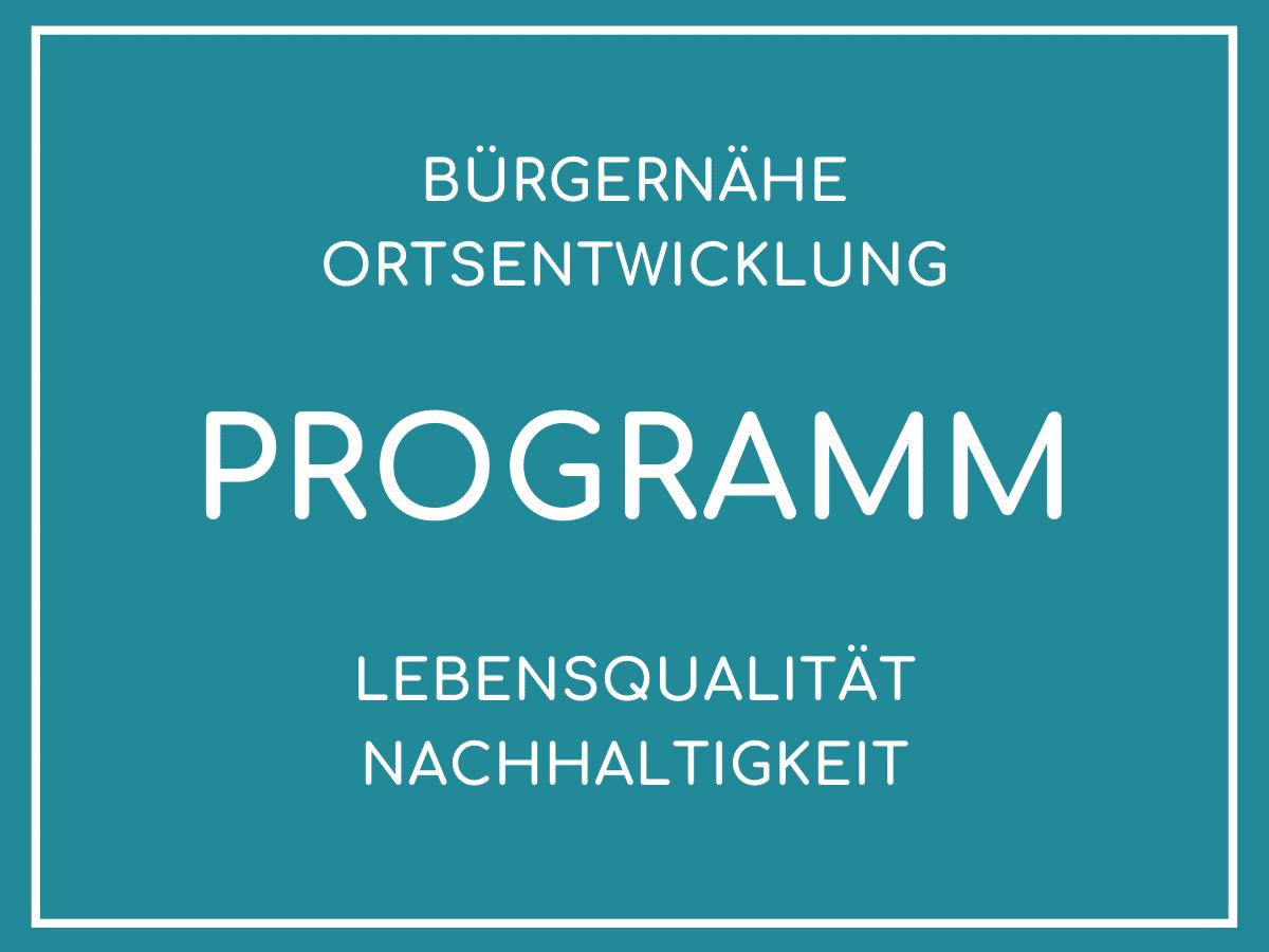 Programm der Unabhängigen Bürgerliste für Donaustauf und Sulzbach